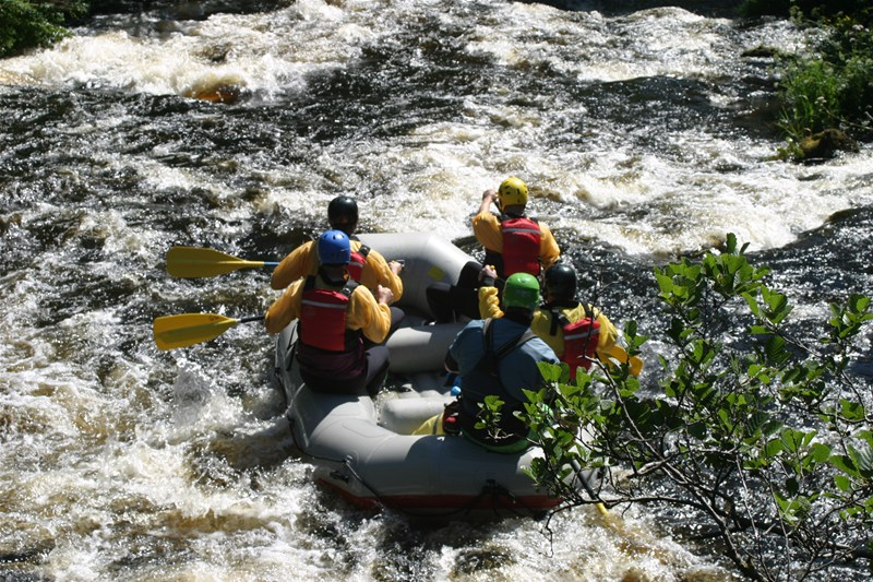 Rafting Tryweryn with Get Wet